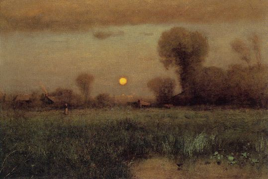 Harvest Moon George Innes 1891