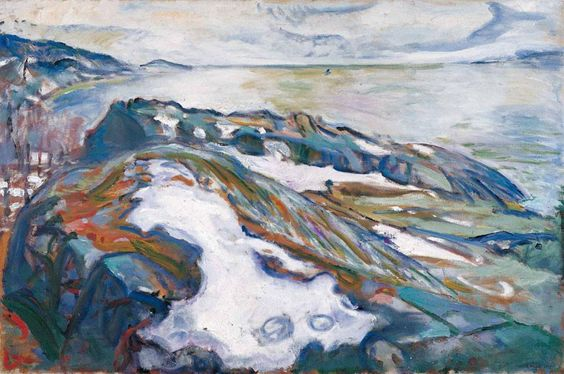 edvardmunch1915winterlandscape